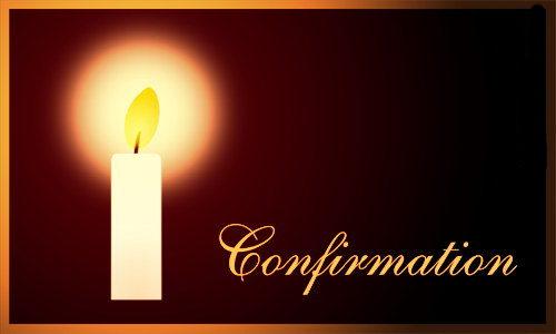 Carte confirmation - Image religieuse gratuite a imprimer ...