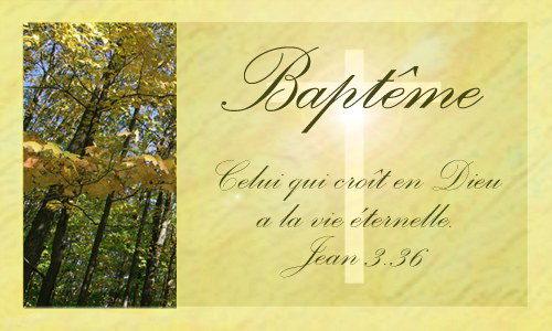 carte bapt u00eame