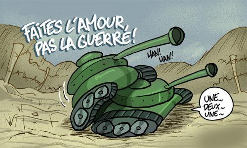 ..pas la guerre !