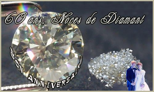 Carte 60 Ans Diamant Cybercartescom