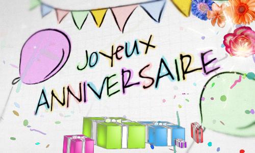 Cartes joyeux anniversaire virtuelles gratuites - Image pour anniversaire gratuite ...