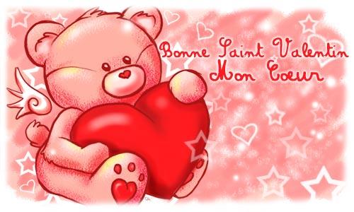 Carte bonne saint valentin - Carte st valentin gratuite a imprimer ...