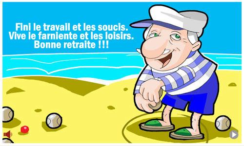 Gut gemocht Carte Bonne retraite ! - CyberCartes.com BD43