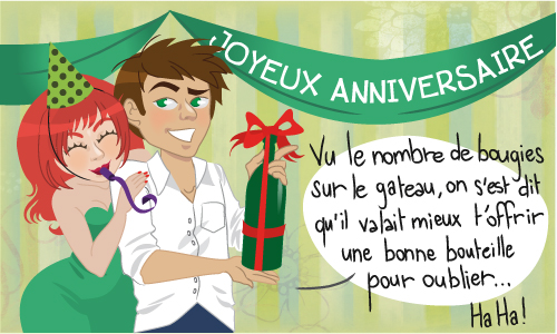 Super Carte Trop de bougies! - CyberCartes.com XG29