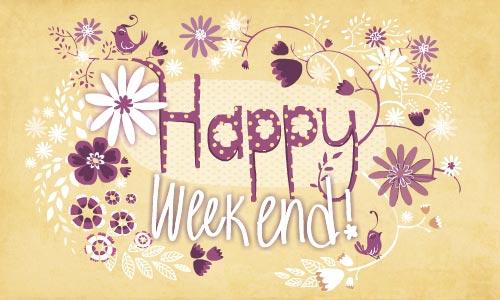 Célèbre Cartes Bon Week-end virtuelles gratuites - Cybercartes.com OI26