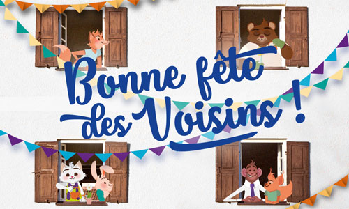 Cartes Fête Des Voisins Virtuelles Gratuites Cybercartescom