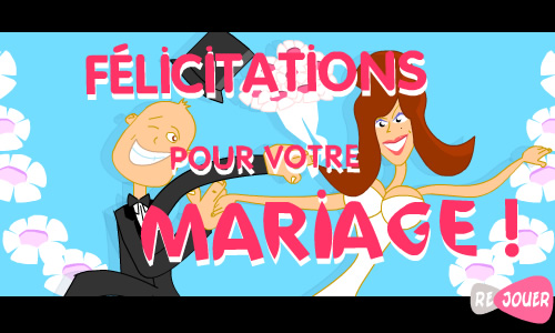 Carte f licitations pour votre mariage - Felicitation mariage humour ...