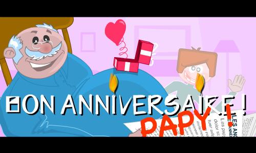 Carte Virtuelle Anniversaire Papy Carte Lisaoycwilson Web
