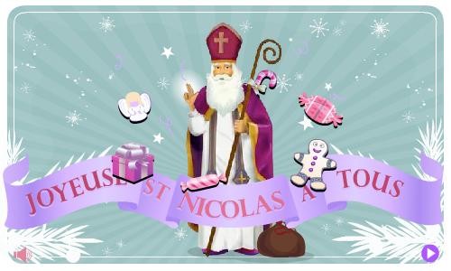 Carte saint nicolas - Image de saint nicolas a imprimer ...