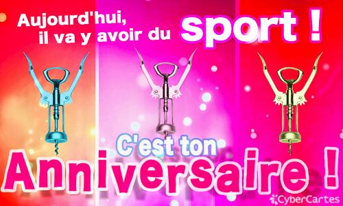 anniversaire humour sportif
