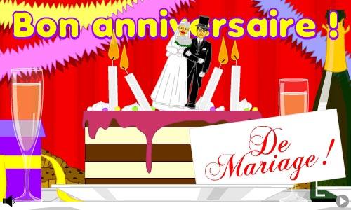 bon anniversaire de mariage - Cybercarte Anniversaire De Mariage