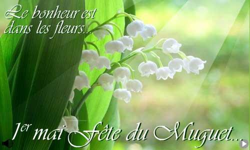 Carte 1er mai muguet - Image muguet 1er mai gratuit ...