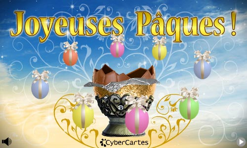 Carte le pr cieux oeuf de p ques - Image pour paques gratuites ...