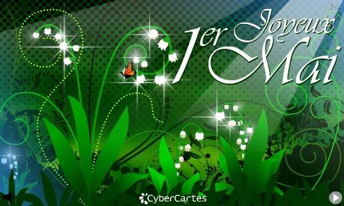Carte virtuelle muguet 1er mai gratuit - Image muguet 1er mai gratuit ...