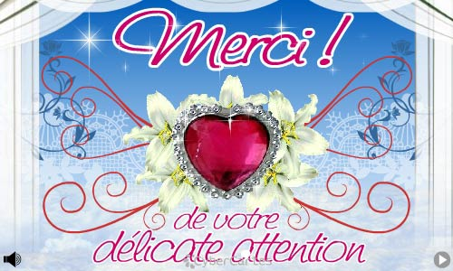 Carte Merci Pour Votre Attention Cybercartes Com