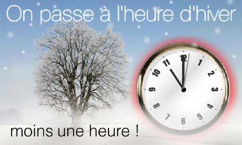 Heure d hiver - Changement heure hiver 2017 france ...