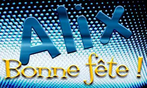 Alix - 9 janvier