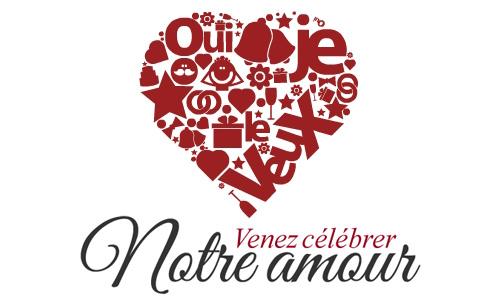 venez clbrer notre amour - Carte Virtuelle Mariage Flicitations Gratuite