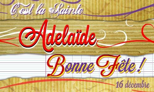 Carte adelaide 16 d cembre - Adelaide prenom ...