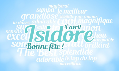Cybercartes cartes de voeux cartes virtuelles gratuites - Prenom isidore ...