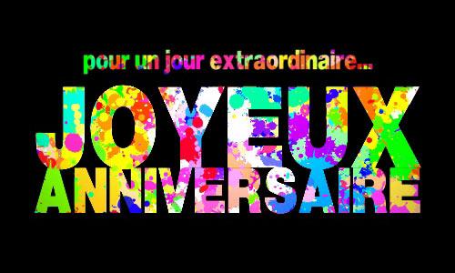 Populaire Carte Joyeux anniver'splash ! - CyberCartes.com PO01