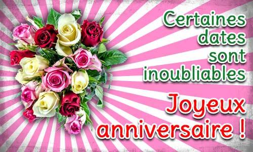 Jolie Carte Anniversaire Femme Fleurs Coleteremelly Web