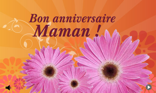 Carte bon anniversaire maman - Carte bon anniversaire maman ...