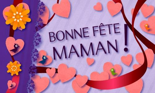 Cybercartes cartes de voeux cartes virtuelles gratuites - Carte bon anniversaire maman ...