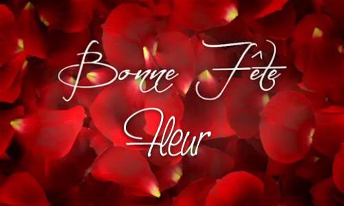 Fleurs Animees Gratuites Bonne Fête Fleur Carte Animée