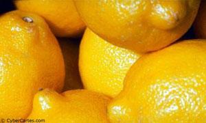 Du soleil plein le citron !