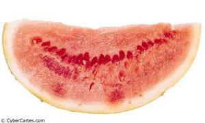 Une tranche de pastèque !