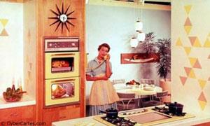 En 1960, dans ma cuisine ...