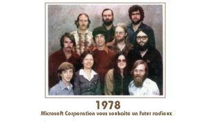 Microsoft vous souhaite..