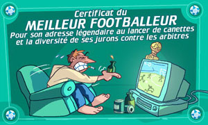 Certificat du footballeur