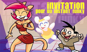 Invitation funky