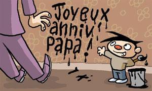 Joyeux anniv papa
