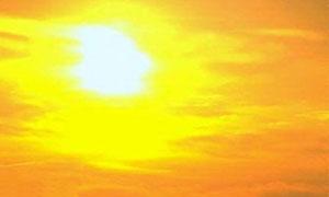 Soleil brillant