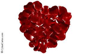 Coeur de pétales