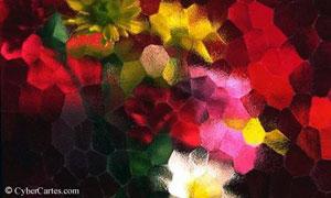 Prisme de fleurs