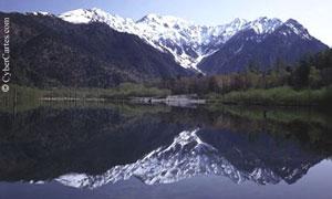 Reflet dans le lac