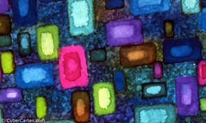 Aquarelle cubiste