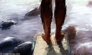 Les pieds dans l eau