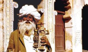 Musicien arabe