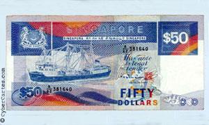 50 $ de Singapour