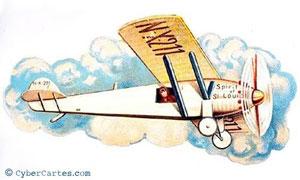 Imagerie d'avion
