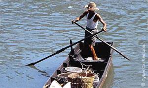 Pêcheur asiatique
