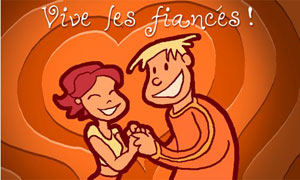 Vive les fiancés
