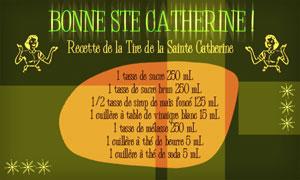 Tire de la Ste Catherine