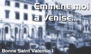Emmène moi à Venise