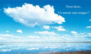 Un amour sans nuages !
